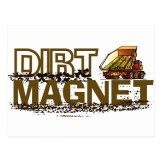 Dirt Magnet Post Card