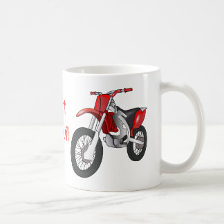 Dirt Motorbike Coffee Mug