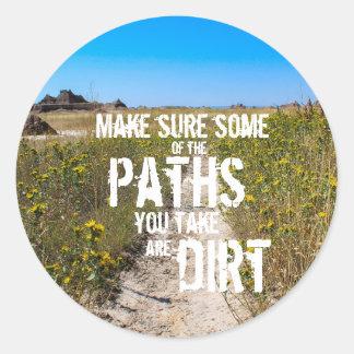 Dirt Paths Sticker