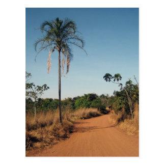 Dirt road postcard