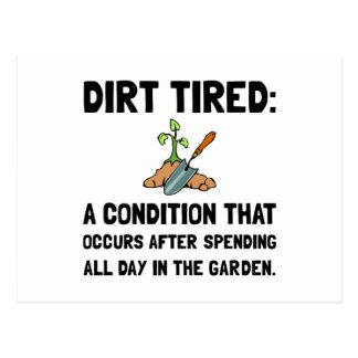 Dirt Tired Postcard