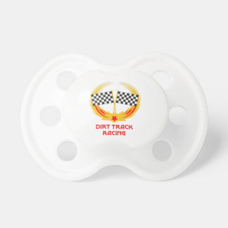 DIRT TRACK RACING PACIFIER