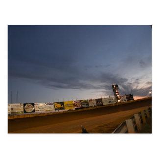 Dirt Track Racing Post Card