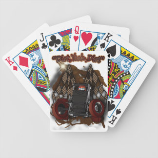 Dirt Yeah Dirt Bicycle Playing Cards