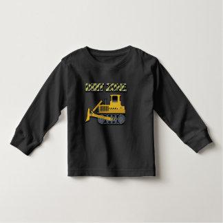 Dirt Zone (Bulldozer) - Toddler Long Sleeve T-Shir Toddler T-shirt