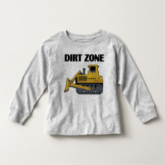 Dirt Zone (Bulldozer) - Toddler Long Sleeve T-Shir Toddler T-shirt