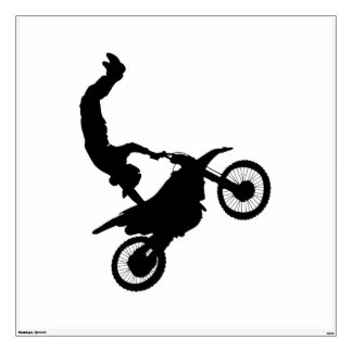 Dirtbike MotorCross Supercross Headstnd Decal
