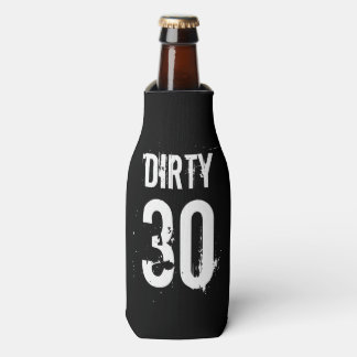 Dirty 30 thirty Birthday party beverage coolers