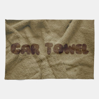 Dirty Car Kitchen Towel