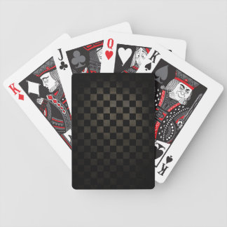 Dirty Check Pattern Poker Deck