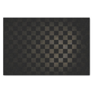 Dirty Check Pattern Tissue Paper