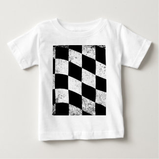 Dirty Chequered Flag Baby T-Shirt
