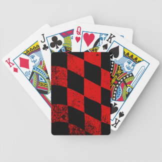 Dirty Chequered Flag Bicycle Playing Cards