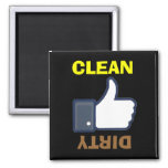 Dirty Clean Thumbs Up / Down Dishwasher Magnets