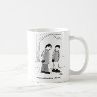Dirty coal from Santa Coffee Mug