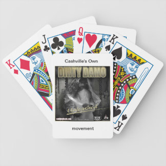 "Dirty Damo ""Unleashed"" playing cards"