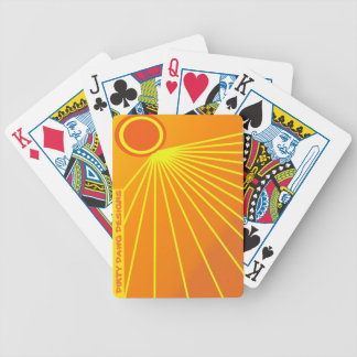 "Dirty Dawg Designs ""Sunburst"" Playing Cards"