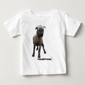 Dirty_dog_white Baby T-Shirt