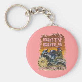 dirty girls keychain