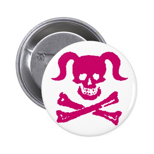 Dirty Girly Pinback Buttons
