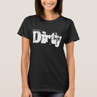 Dirty Grunge Typography T-Shirt