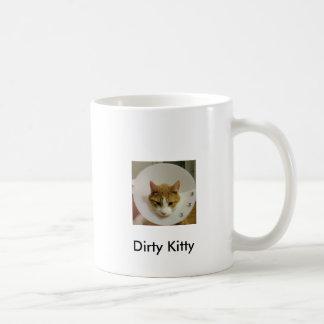 Dirty Kitty Coffee Mug