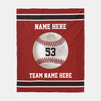 Dirty look Baseball Personalized Baseball Blanket