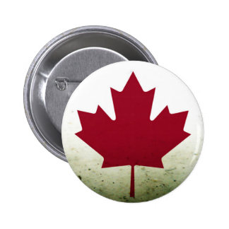 Dirty Maple Leaf 2 Inch Round Button