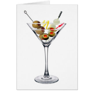 Dirty Martini Card