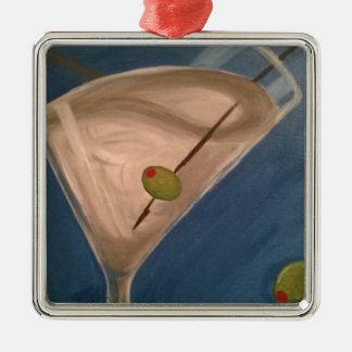 Dirty Martini Metal Ornament