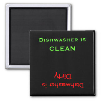 Dirty or Clean Dishes Magnet