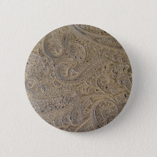 Dirty Paisley 2 Inch Round Button