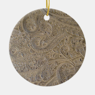 Dirty Paisley Ceramic Ornament