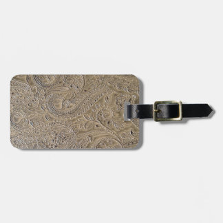 Dirty Paisley Luggage Tag