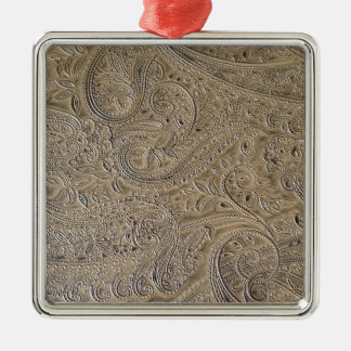 Dirty Paisley Metal Ornament