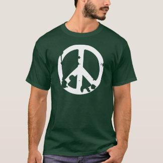 Dirty Peace Symbol white T-Shirt