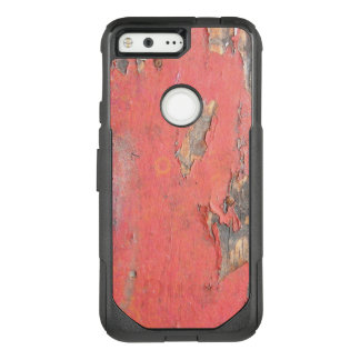 Dirty Peeling Red Paint on Barn Wood OtterBox Commuter Google Pixel Case