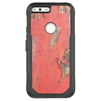 Dirty Peeling Red Paint on Barn Wood OtterBox Commuter Google Pixel XL Case