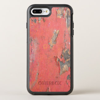 Dirty Peeling Red Paint on Barn Wood OtterBox Symmetry iPhone 8 Plus/7 Plus Case