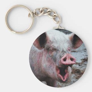 Dirty Pig Keychain