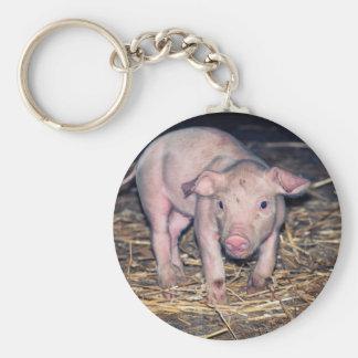 Dirty piglet keychain