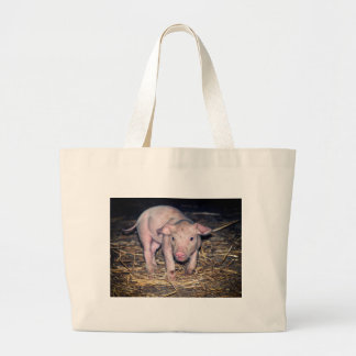 Dirty piglet large tote bag