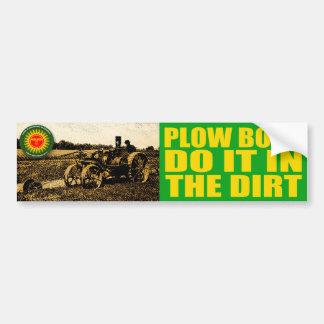 Dirty Plow Boy Bumper Sticker