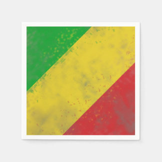 Dirty Rasta Stripes Disposable Napkin