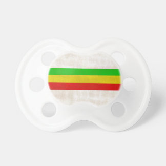 Dirty Rasta Stripes Pacifier