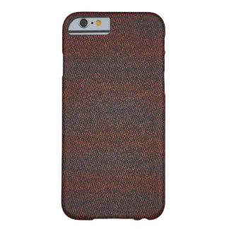 Dirty Red Denim Texture iPhone case