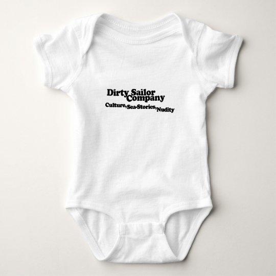 Dirty Sailor Baby Baby Bodysuit
