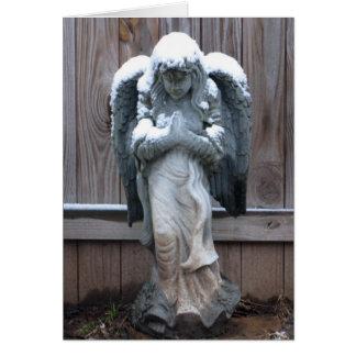 Dirty Snow Angel Card