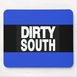 Dirty South 2 Blue Mouse Pad