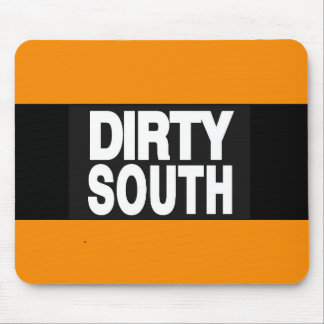 Dirty South 2 Orange Mouse Pad